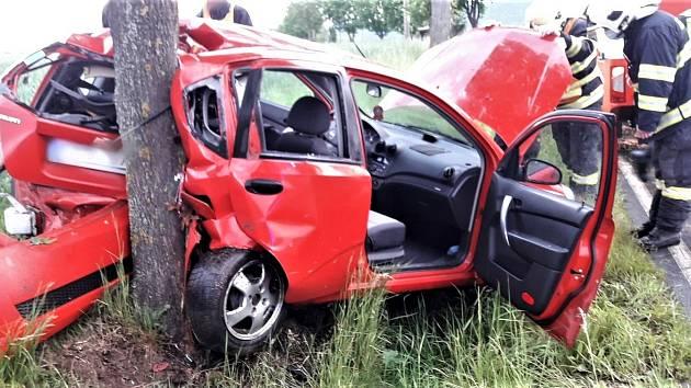 Dopravní nehoda - pondělí 25. 5.  u Pavlovska