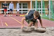 Atletický čtyřboj na Jižním předměstí