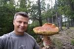 Jan Kroc z Rokycan s největším úlovkem.