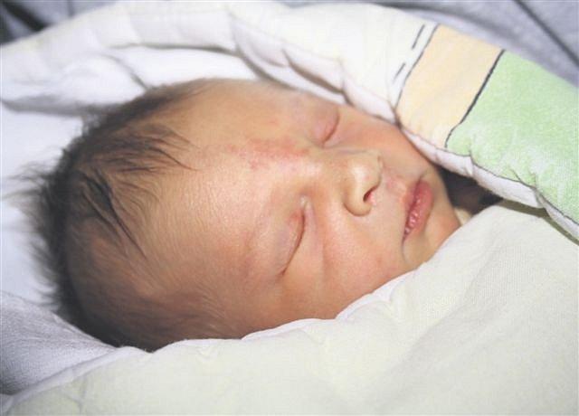 Václav VLACH z Bezděkova se narodil 13. listopadu ve 14 hodin a 36 minut. Manželé Jana a Václav věděli dopředu, že jejich první dítě bude kluk. Vašík přišel na svět s mírami 3300 gramů a 47 cm.