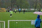 Kluci z Husových sadů nasypali Horažďovicím 16 gólů