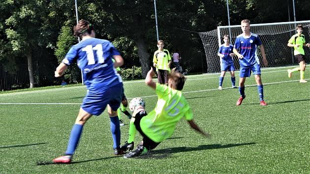 FC Rokycany - SK Kladno 1:5. Ilustrační foto.