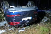 Čtvrteční nehoda u Strašic