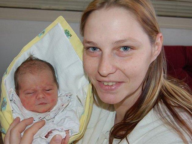 Klaudie Křížová z Břas se ozvala poprvé  15. února po páté hodině ranní. Doplnila tým maminky Andrey, přítele Radka (byl na sále podruhé) a dvouleté Natálky. Benjamínek měřil 50 cm a vážil 3300 gramů.