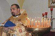Pravoslavný kněz David Dudáš .