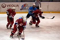 Suverénně si počínali v sobotním derby krajského přeboru hokejisté HC DAG Rokycany B. Pokořili v okresním derby HC Břasy 6:2.