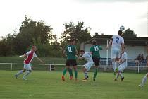 Rokycanští fotbalisté zaváhali ve 3. kole krajského přeboru. Prohráli ve Vejprnicích 1:2.