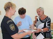Učitelé se zúčastnili semináře Ochrana člověka za běžných rizik a mimořádných událostí.