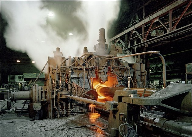 Válcovny jednoho z podniků Z - Group Steel Holding a.s.