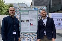 Lukáš Picek (vpravo) a Milan Šulc významně přispěli k vývoji ´houbové´ aplikace. Je využívána v celém světě.