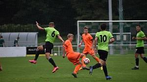 Dorost FC si vyšlápl na pyšný Vyšehrad a získal čtyři body