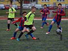 Starší žáci FC Rokycany porazili SSC Bolevec 2:1.