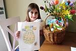 Žáci dostali za úkol pojmout Velikonoce jako v Anglii.