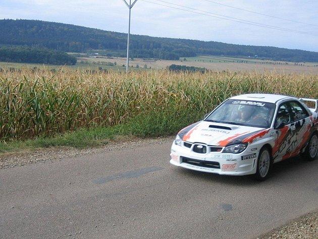 První ročník Rokycany Rallye.
