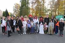 V Borku organizátoři (na snímku) přivítali devadesát dětí.