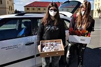 Osazenstvo rokycanské střední školy se zapojilo do charitativní akce