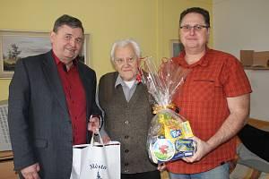 Miroslav Kofroň oslavil 98 narozeniny