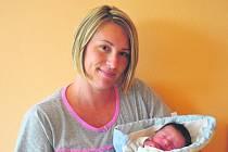 Daniel MULAČ ze Stupna přišel na svět 27. června. Narodil se deset minut po sedmé večer. Manželé Lucie a Petr se nechali pohlavím svého druhého dítěte překvapit. Doma už mají prvorozeného syna Lukáška (3,5 roku). Malý Daneček vážil 3770 gramů.