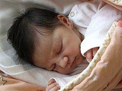 Michaela Voříšková  z  Holoubkova se narodila 6. srpna v 9 hodin a 15 minut. Michalka přišla na svět s mírami 3150 gramů a 50 cm.