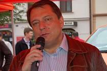 Jiří Paroubek v Rokycanech.