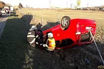 Dopravní nehoda u Cekova