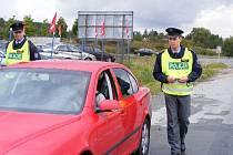 Na čtyři desítky policistů se zapojilo do pondělní rozsáhlé dopravně bezpečnostní  akce na Rokycansku. Zjistili šestadvacet přestupků.