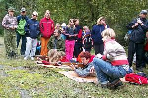 Oddíl Hvězda z PS Strašice uspořádal pro kolegy z dalších skupin okresu střeleckou soutěž Brdský střelec.
