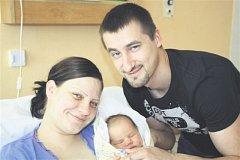 Michal ČÍHA z Rokycan si pro svůj příchod na svět vybral datum 3. května. Narodil se v 11 hodin a 37 minut. Maminka Lenka a tatínek Michal věděli dopředu, že jejich první dítě bude chlapeček. Malý Míša vážil při narození 4280 gramů, měřil 52 cm.