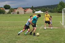 Tradiční turnaj malé kopané pořádali v sobotu v Siré