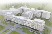 Vizualizace nové podoby nemocnice