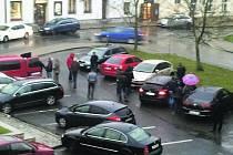 Rušno bylo ve středu odpoledne v Rokycanech.