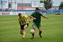 FK Robstav Přeštice vs. FC Rokycany 1:1.