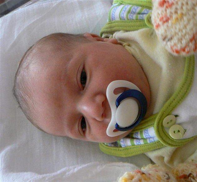 Karel MAN  z Klabavy se narodil ve FN v Plzni 19. října. Přišel na svět ráno v 5 hodin a 40 minut.