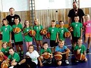 Malým basketbalistům SKB dnes končí týdenní soustředění.