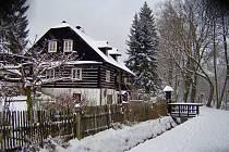 Sněhová nadílka poslední březnový den...