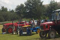 Traktoriáda přilákala velké množství závodníku na víče, či méně obvyklých strojích.