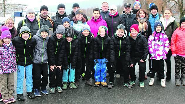 Malí fotbalisté vyrazili na Kotel