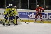HC Rokycany - Meteor Třemošná 4:2 (2:0, 0:1, 2:1).