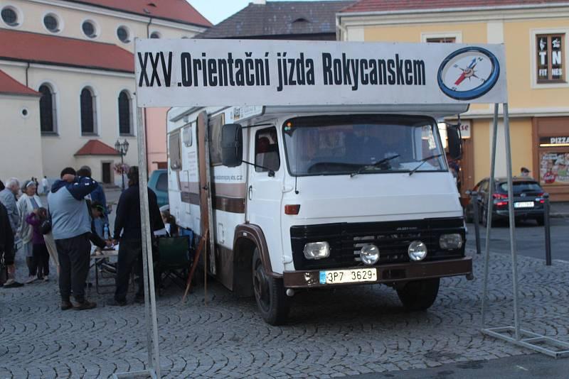 25. ročník orientační jízdy Rokycanskem.