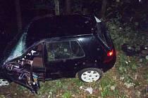 Motorista nadýchal přes dvě promile alkoholu.