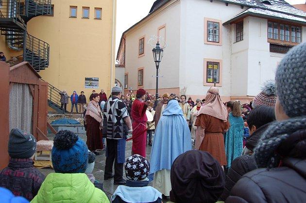 HERCI ze sdružení Maják nastudovali pro přelom letopočtů křesťanský laděnou hru.