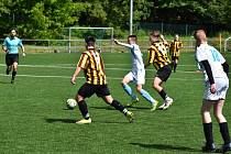Přípravné utkání mladšího dorostu skončilo výhrou 7:1.