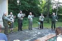 Myslivečtí trubači vystoupili v Klabavě.