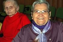V mirošovském Domově Harmonie pokračovaly v sobotu oslavy šedesáti let existence tohoto zařízení. Ranní přednášku Martina Langa si vyslechly i Dorota Bahníková s Jiřinou Pražákovou.