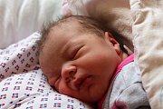 LAURA ZIMMERMANNOVÁ ze Sedlecka si poprvé zakřičela na porodním sále 28. dubna ve 22:31 hodin. Manželé Lidmila a Lukáš znali pohlaví svého prvního miminka dopředu. Laura vážila při narození 3560 gramů, měřila 52 cm.