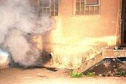 Požár v hrádeckých železárnách