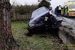 Páteční nehoda v Liblíně.