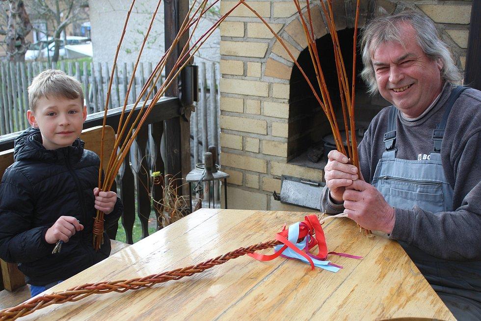 Vladimír Peroutka z Rokycan se těší na každoroční rituál.