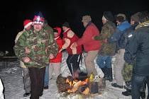Bušovičtí vyzráli na démona a  oslavili to speciálním tancem.