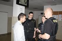 Policisté kontrolovali v úterý ubytovny a cizince na Rokycansku.